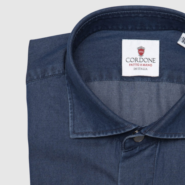 Cordone Light Denim Shirt