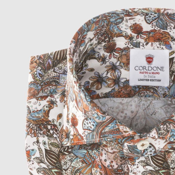 Cordone Multicolor Fantasy Cotton Shirt