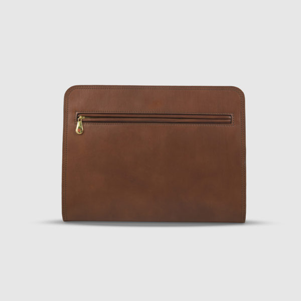 Athison Brown Leather Pouch