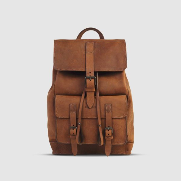 The Dust Company Drifter Leather Backpack