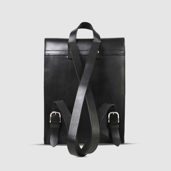The Dust Company Sleek Leather Backpack