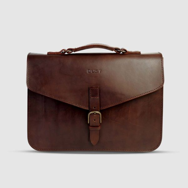 The Dust Company Essential Leather Briefcase