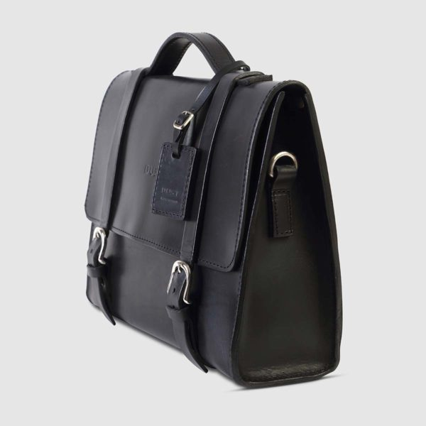 Borsa briefcase in Cuoio nero The Dust Company