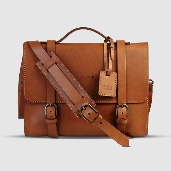 The Dust Company Icons Leather Briefcase