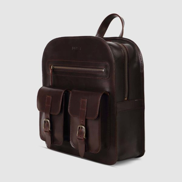 The Dust Company Camp Leather Backpack