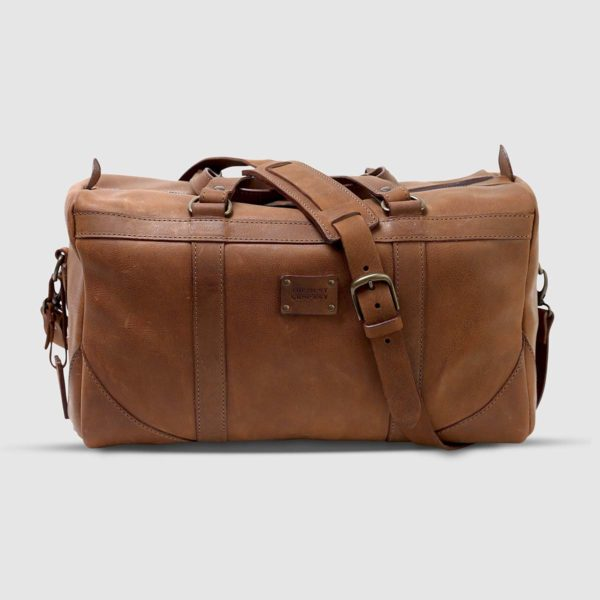 The Dust Company Journeyman Leather Duffle