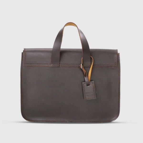 The Dust Company Modern Leather Messenger