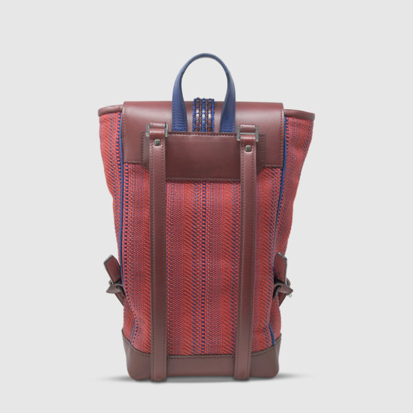 Athison Red Backpack