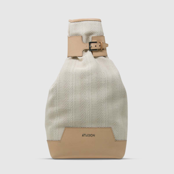 Athison Gray/Beige Alight Backpack