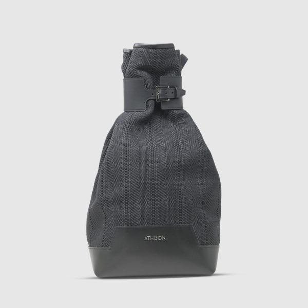 Athison Black Alight Backpack