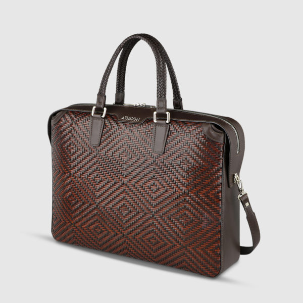 Athison Brown Leather Bag