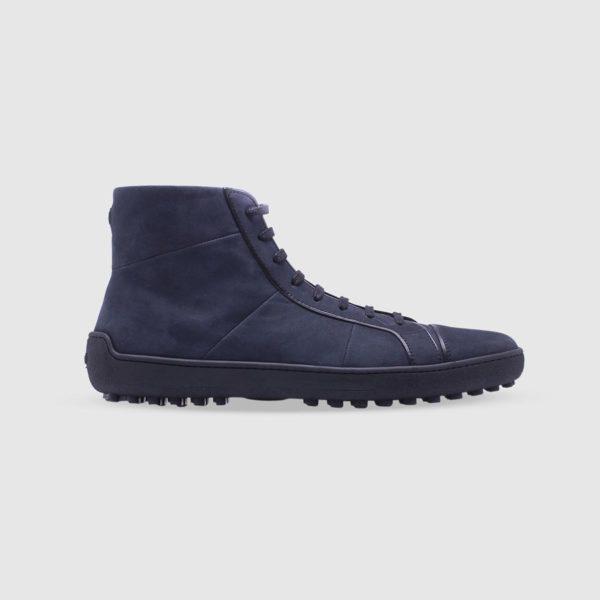 Blue sneaker in nubuck