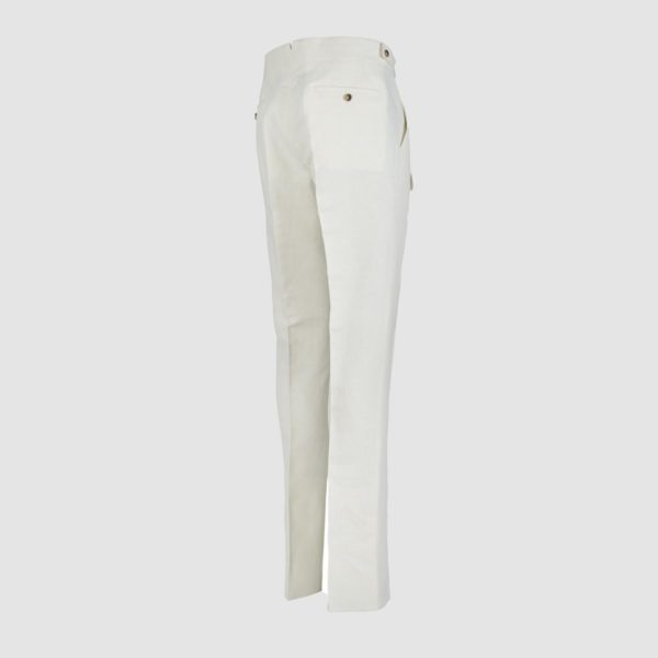 Gurkha Ivory Cotton&Hemp Trousers