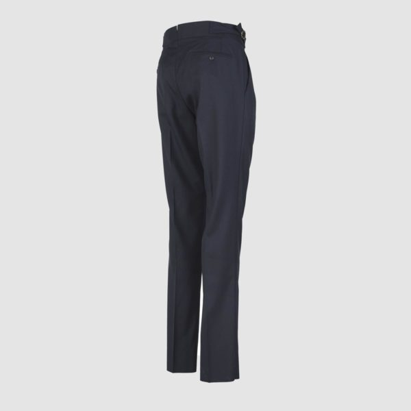 Gurkha Blue Wool Trousers