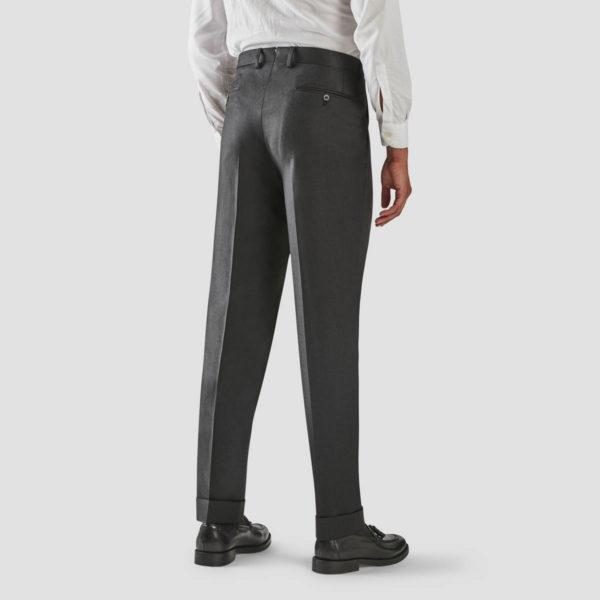 Pantalone 1 Pince Lana Antracite