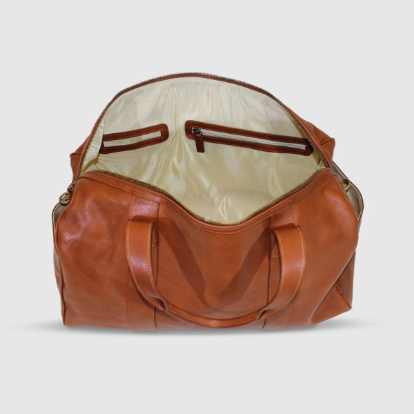 Terrida Leather Large Duffle Bag