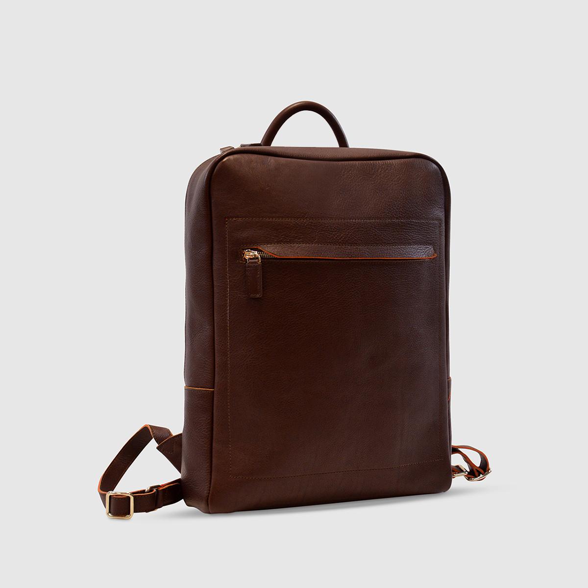 Terrida Leather Computer Backpack