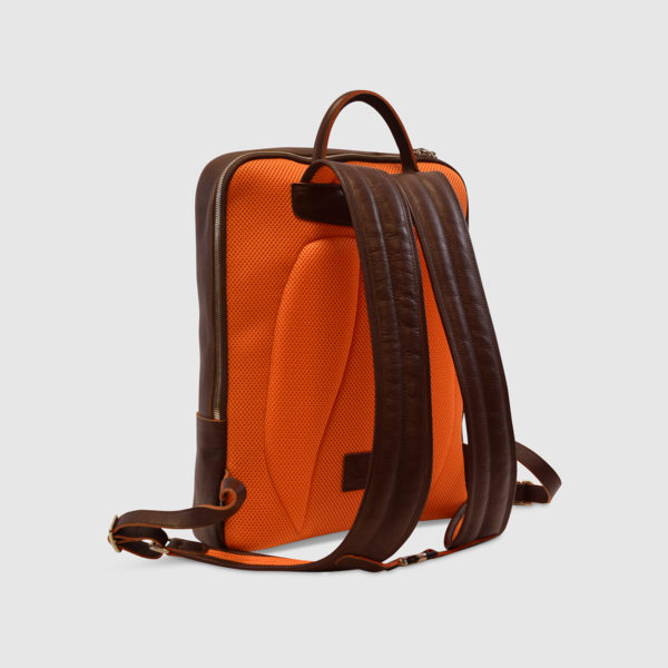 Terrida Leather Computer Backpack