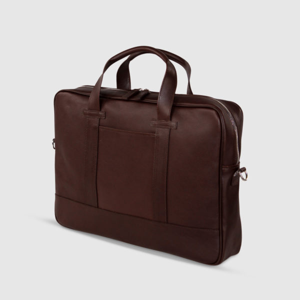 Terrida Leather Large Document Briefcase