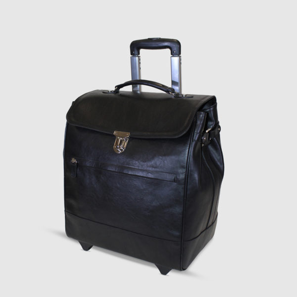 Terrida Leather Trolley Bag