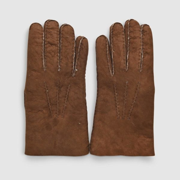 Omega Brown Nikol's Sheepskin Glove