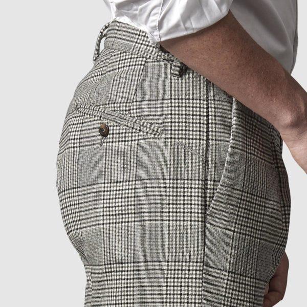 Pantalone Principe di Galles in Lana