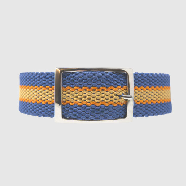 Electric Blue/Orange Foxtrot Reversible Belt