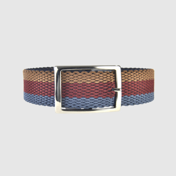 Indigo/Burgundy/Choco Foxtrot Reversible Belt