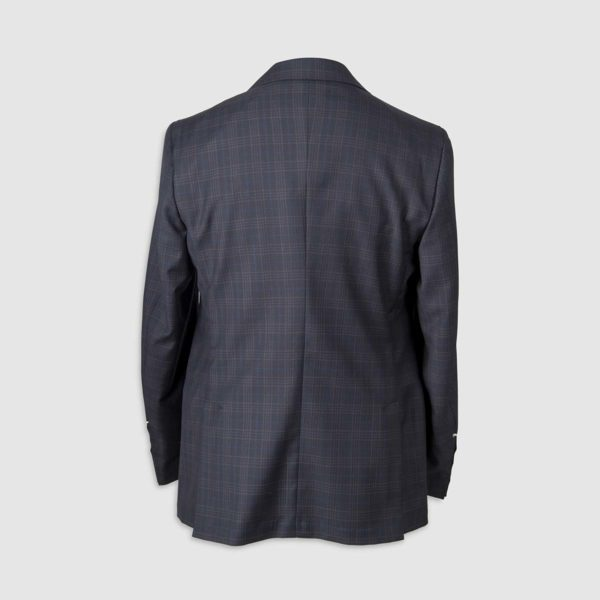Plaid Check Smart Suit in 130s Four Seasons Wool