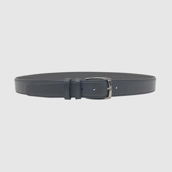 DarkBrown/Navy Spartan Leather Belt