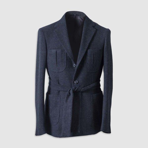 Belted Coat in 100% Wool