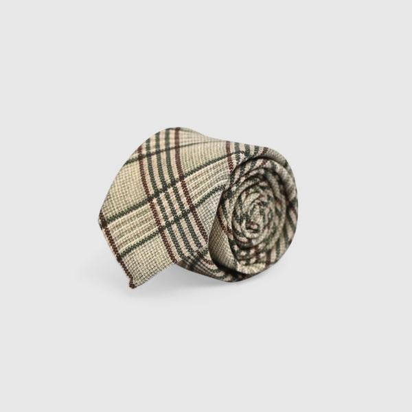 100% Tartan Wool Tie