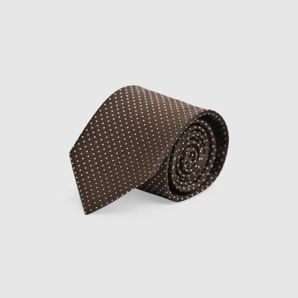 Cravatta pois 100% Seta ___
