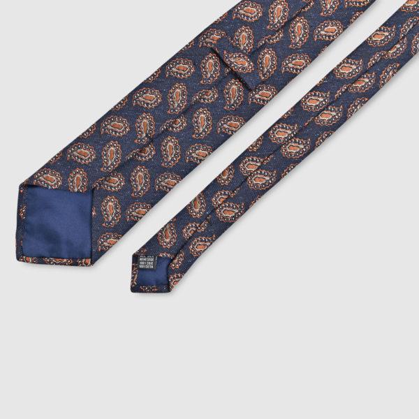 Cravatta Kashmir 100% Lana