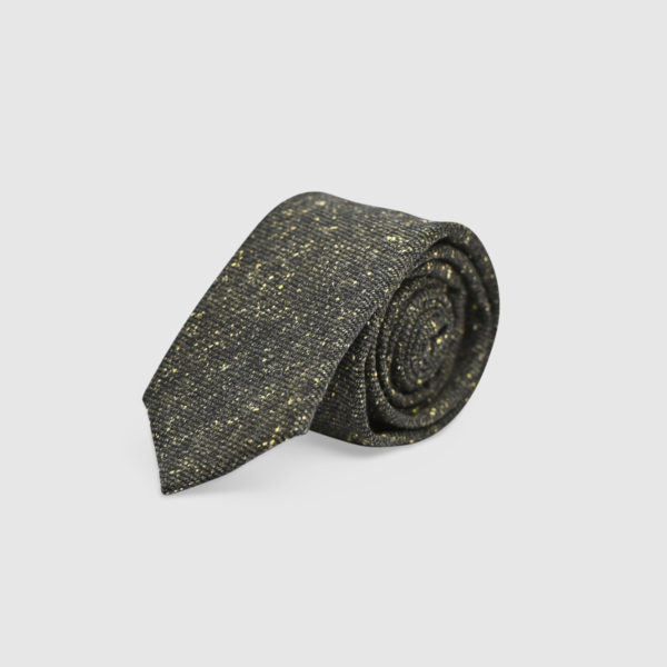 Cravatta melange 100% Lana