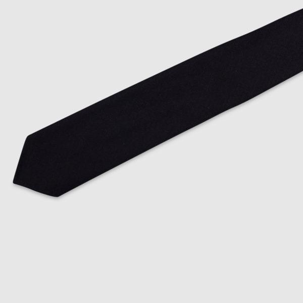Cravatta 3 Pieghe 100% Lana Viola