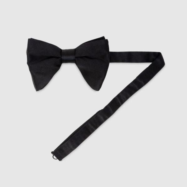 Bow tie in seta modello butterfly
