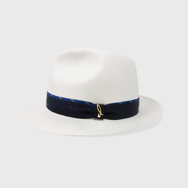 Cappello Fedora ad Ala Piccola – Bianco