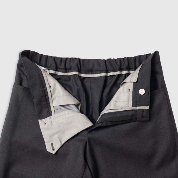 Pantaloni Antracite in Lana 150's