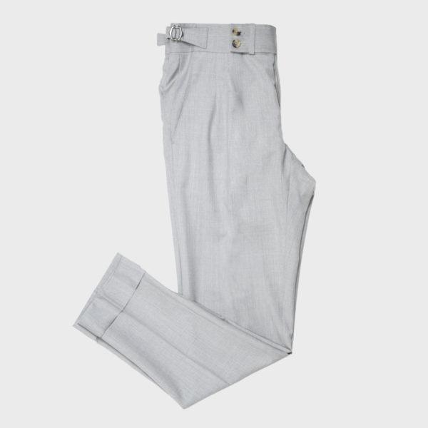 Pantaloni Gurkha In Cotone – Grigio