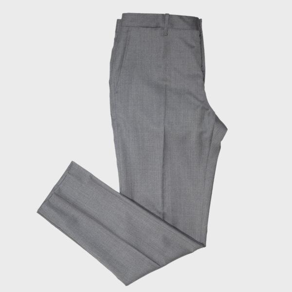 Pantalone classico in Lana Drago – Grigio Scuro