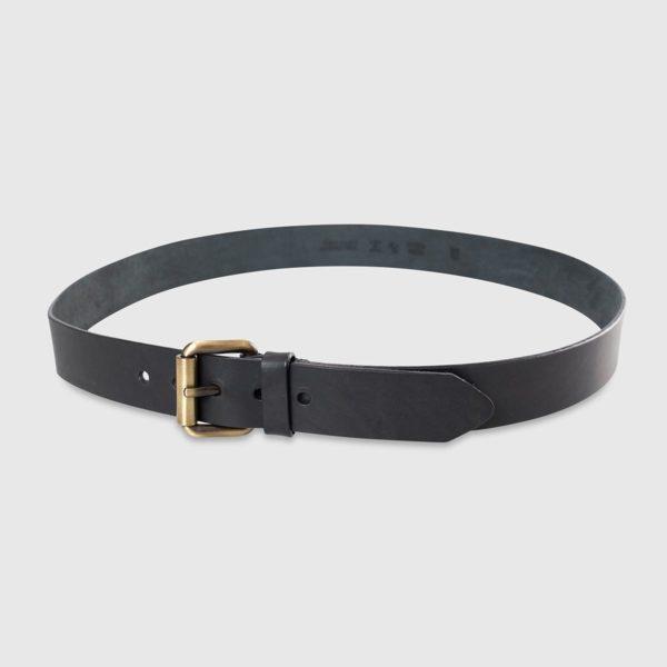 Genuine Tuscan Leather Belt – Black