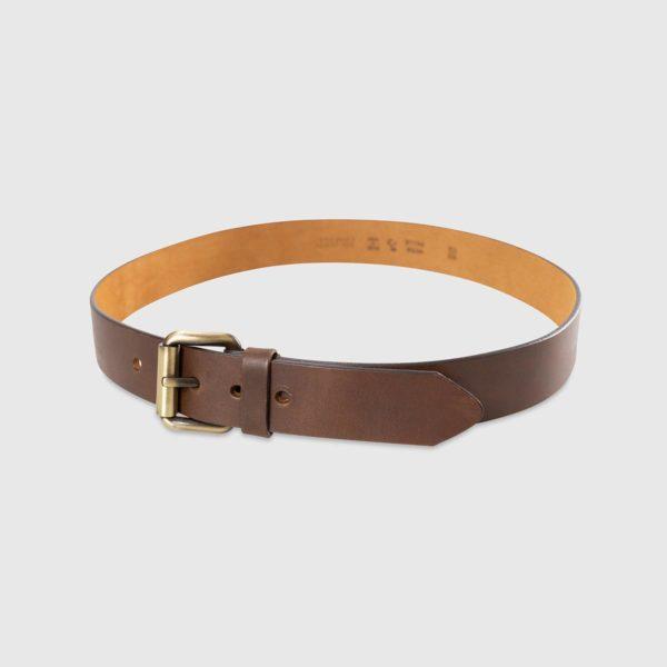 Genuine Tuscan Leather Belt – Havan Brown Leather