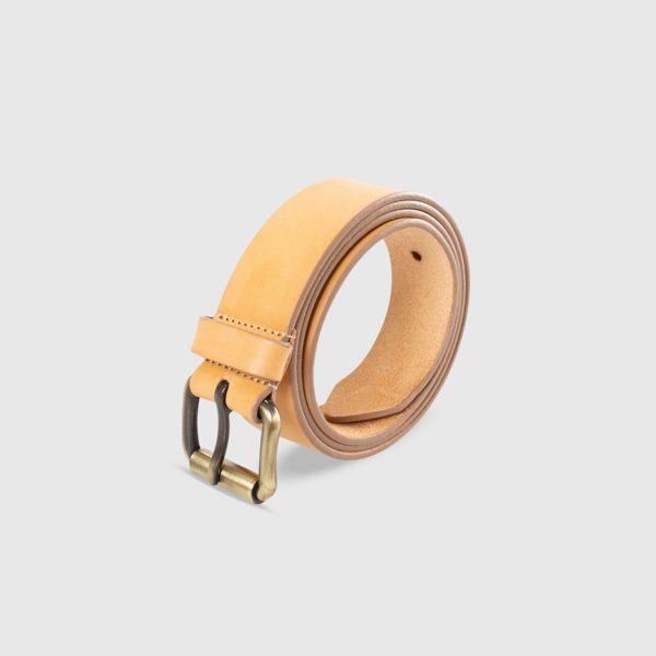 Genuine Tuscan Leather Belt – Natural