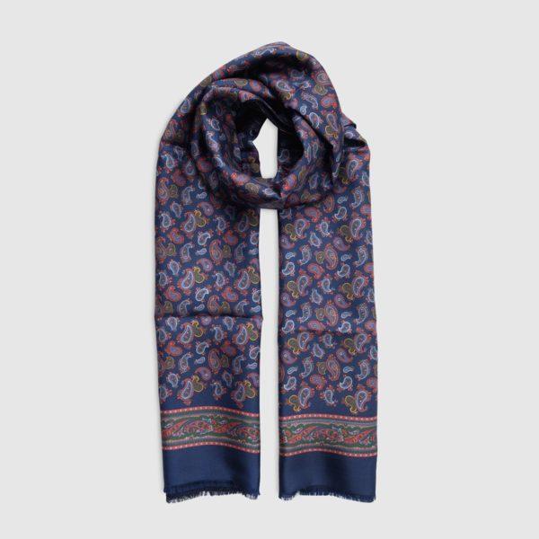 Sciarpa in Seta/lana Fantasia Kashmir