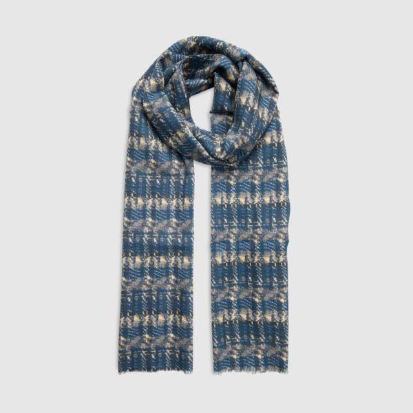 Sciarpa in Lana Disegno Tie Dye